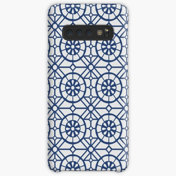 Azul Tiles (Blue on White) Samsung Galaxy Snap Case