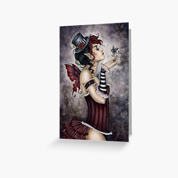 Fae Risque Greeting Card