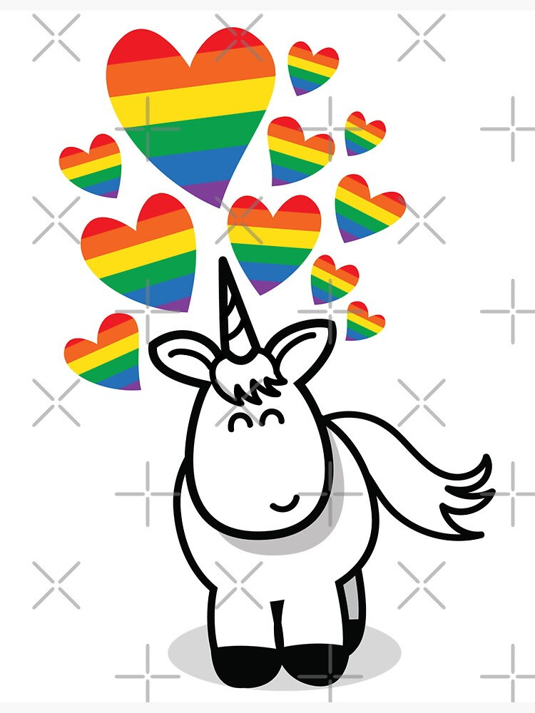 Magical Unicorn Love by cartoongoddess