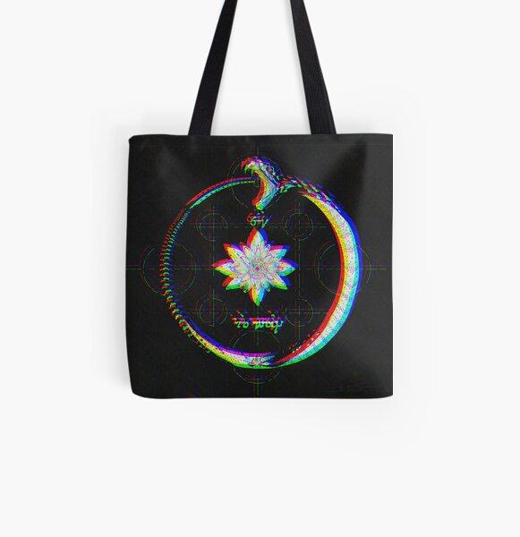 Ouroboros (Chroma version) All Over Print Tote Bag