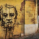 Graffiti, Rome by Roz McQuillan