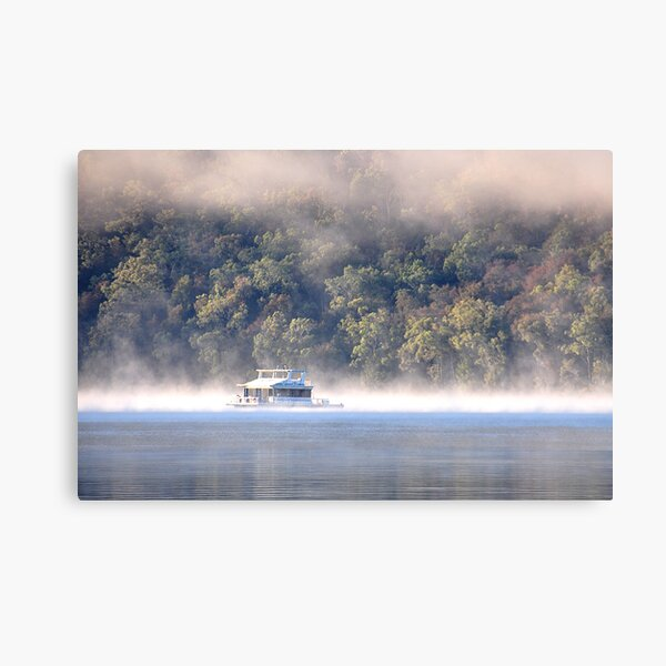 Hawkesbury River House Boat - NSW Australia Canvas Print