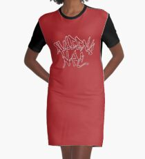 Queens NYC Graphic T-Shirt Dress