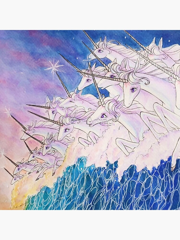 Unicorns in the sea by Em-Arting
