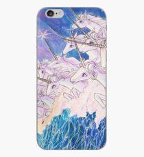 Unicorns in the sea iPhone Case