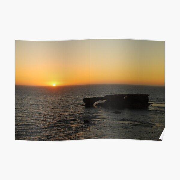 Guichen Sunset Poster