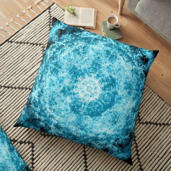 Glacial Halo Floor Pillow