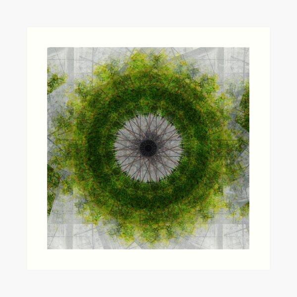 Citadel Wreath Art Print