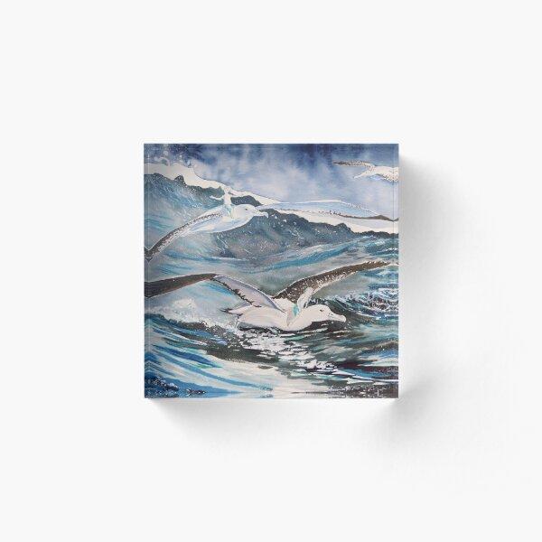The Seafarers Acrylic Block
