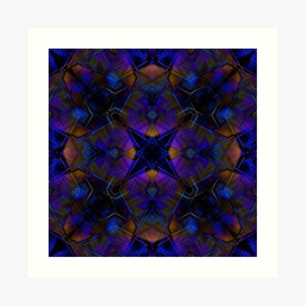 Kaleidoscopic Iris Art Print