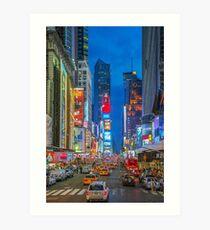 Times Square (Broadway) Art Print