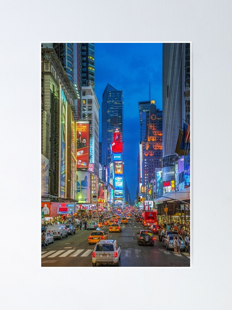 Alternate view of Times Square (Broadway) Poster