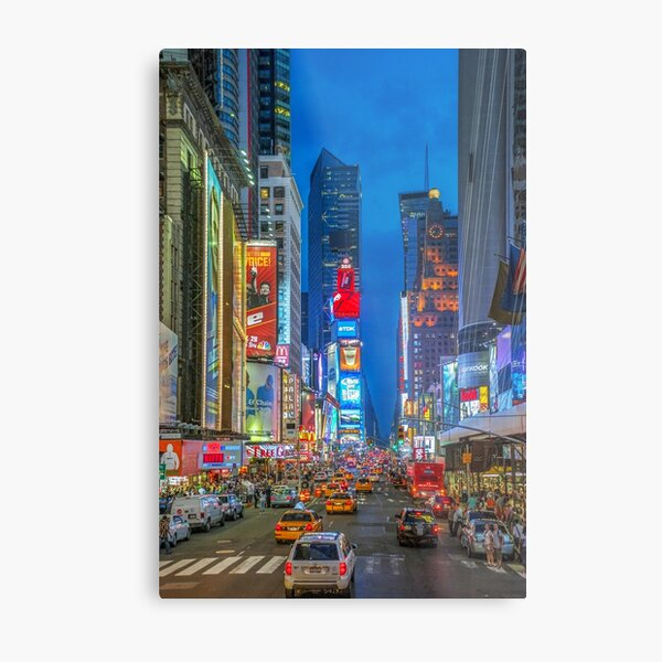 Times Square (Broadway) Metal Print