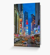 Times Square (Broadway) Greeting Card