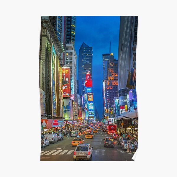 Times Square (Broadway) Poster