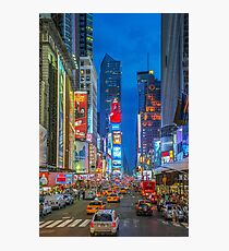 Times Square (Broadway) Photographic Print