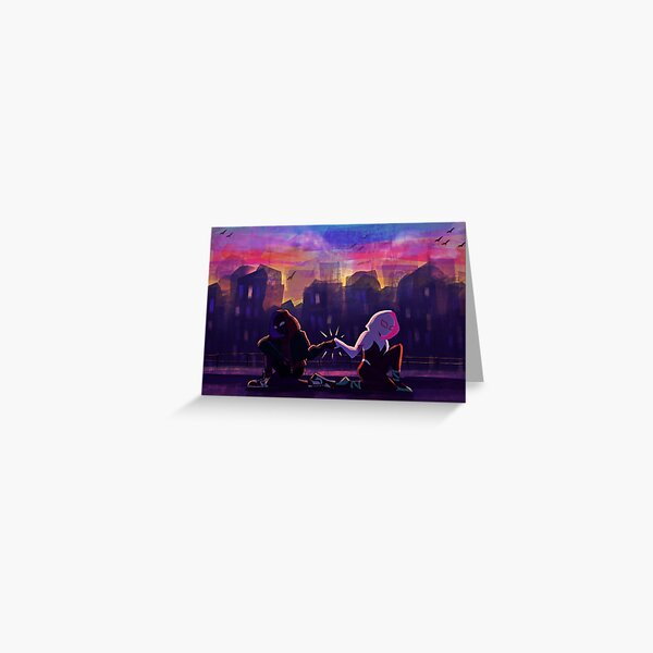 Spiderverse Buds  Greeting Card
