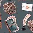 Gorgeous Book-Inspired Illustration by sparklehorsette