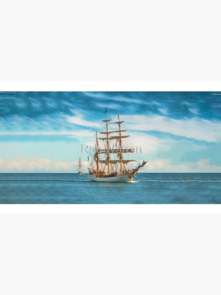 Sailing Grace (digital painting) by RayW