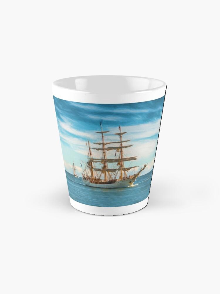Alternate view of Sailing Grace (digital painting) Mug