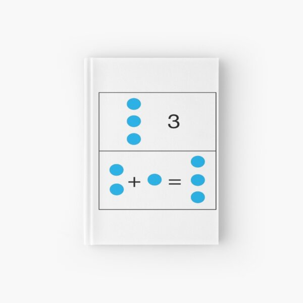 Mathematics, 2+1=3 First grade math skills set foundation for later math ability Hardcover Journal