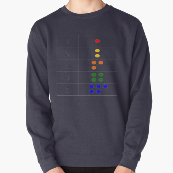 Math-based pictures in the everyday baby environment set a foundation for later math ability Pullover Sweatshirt