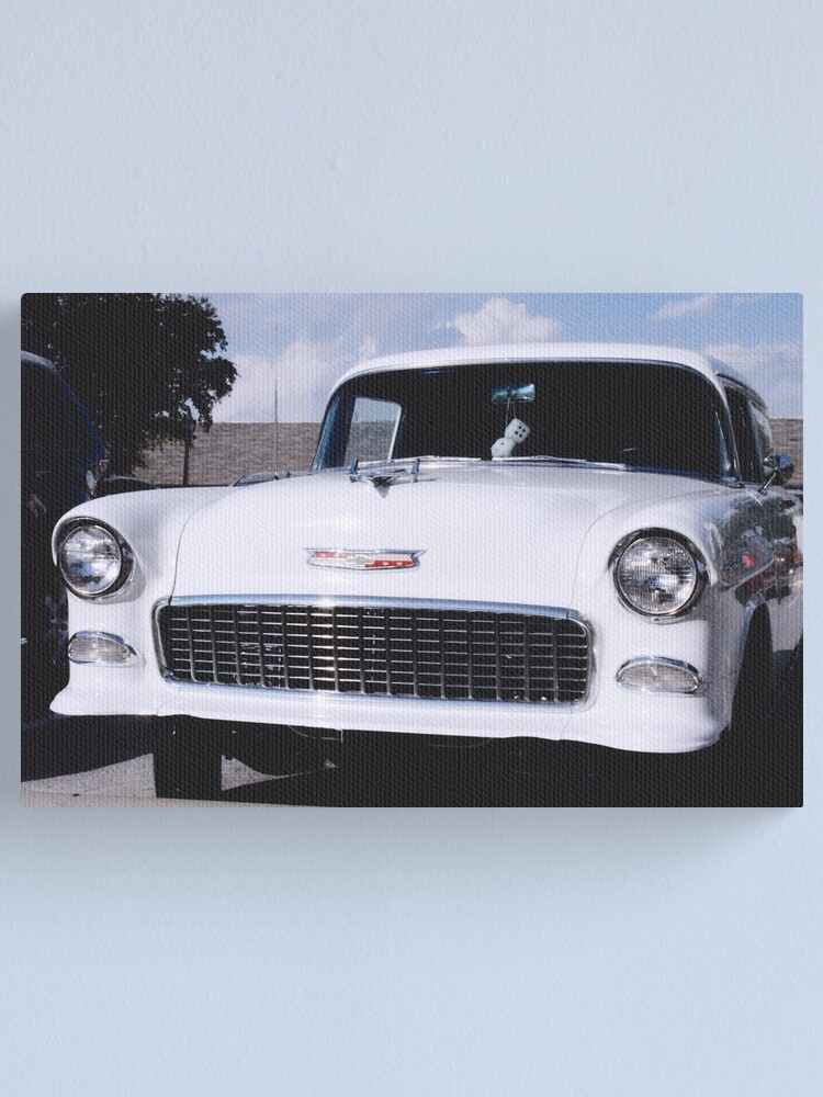 Alternate view of '55 Chevy Canvas Print