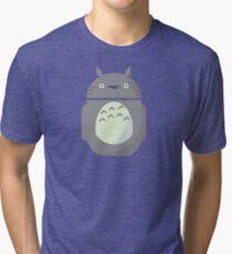 My Neighbor Totoroid Tri-blend T-Shirt