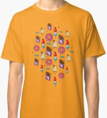 sweet tooth pattern Classic T-Shirt