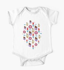 sweet tooth pattern One Piece - Short Sleeve