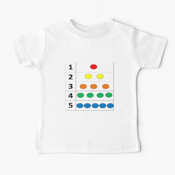 Math-based images in everyday children's setting lay the foundation for subsequent mathematical abilities Baby T-Shirt