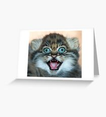 I may be small but these little teeth are still sharp!! Greeting Card