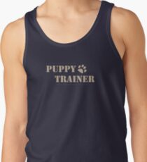 Welpen-Trainer Dog Handler Human Pup Design Tank Top