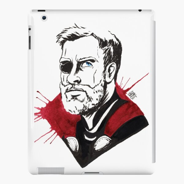 Splatter Thunderer iPad Snap Case