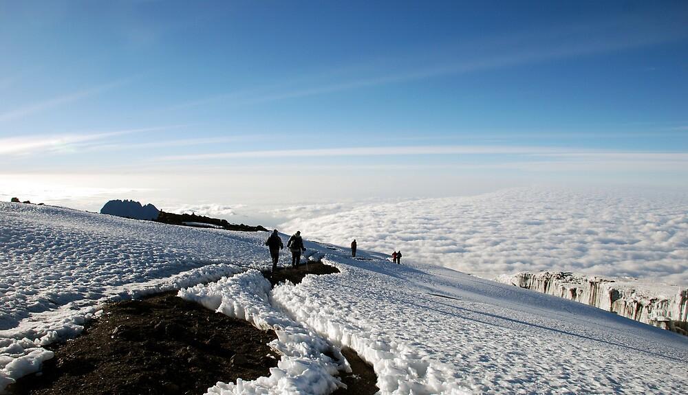Uhuru Summit, highest peak of Kilimanjaro by mojgan