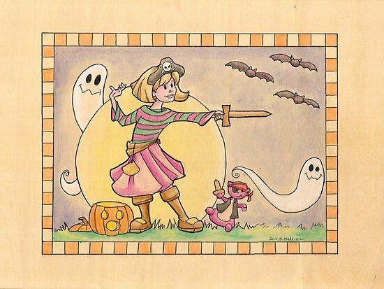 Happy Halloween! by Karen  Hallion