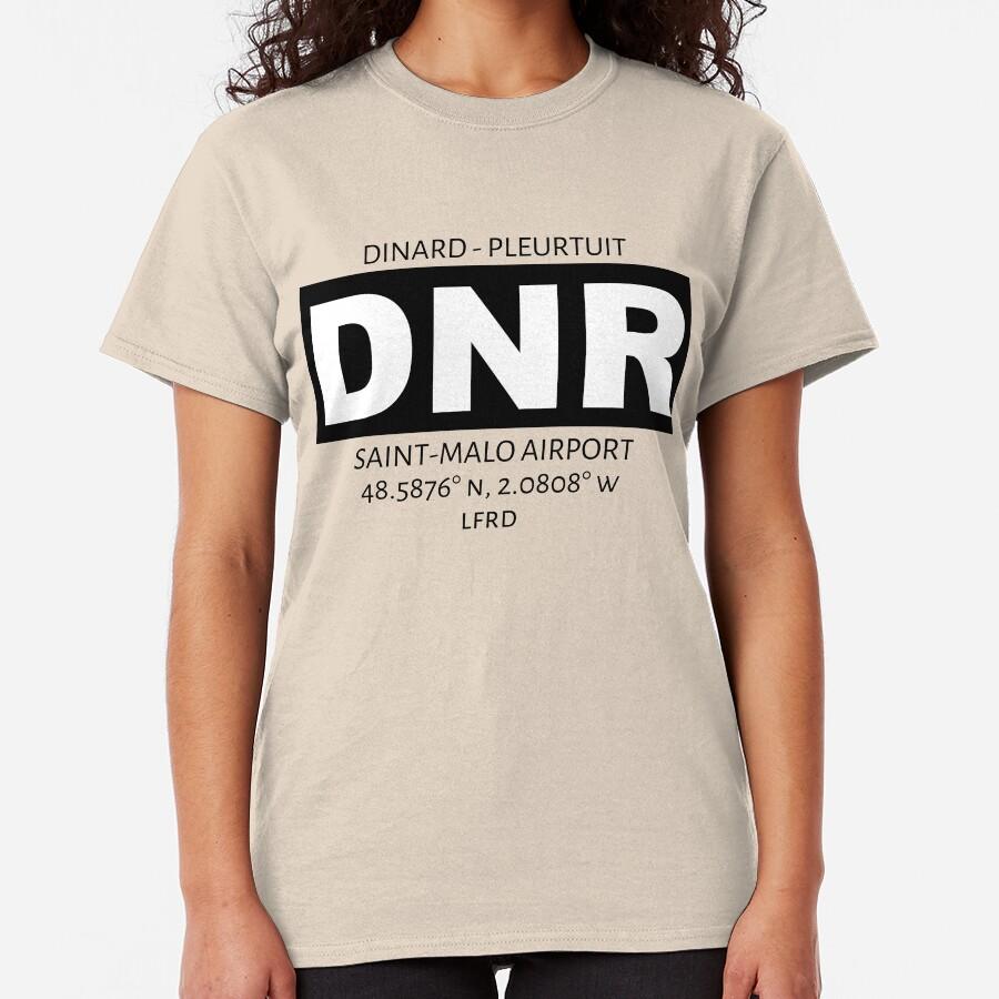 Dinard Pleurtuit Saint-Malo Airport DNR Classic T-Shirt