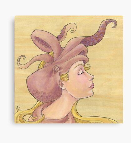 The Octopus Mermaid 11 Canvas Print