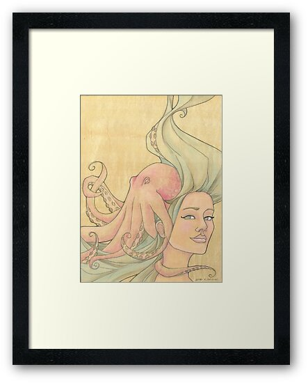 The Octopus Mermaid 7 by Karen  Hallion