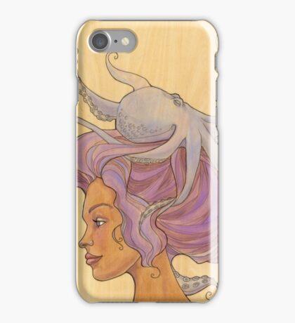 The Octopus Mermaid 4 iPhone Case/Skin