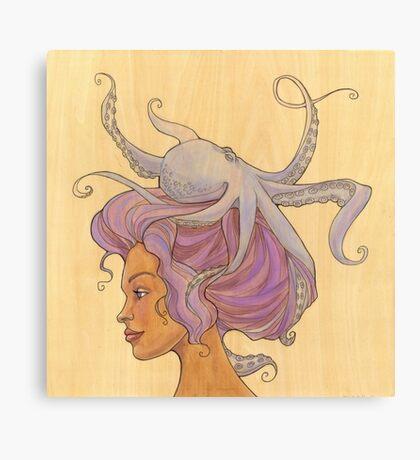 The Octopus Mermaid 4 Canvas Print