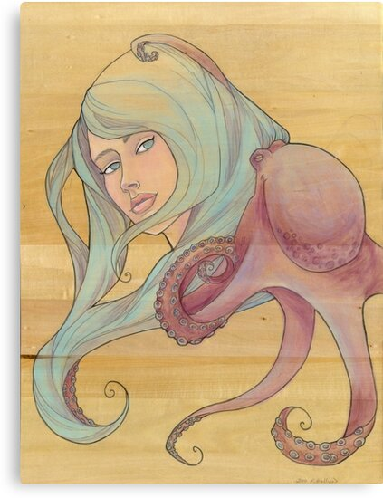 The Octopus Mermaid 3 by Karen  Hallion