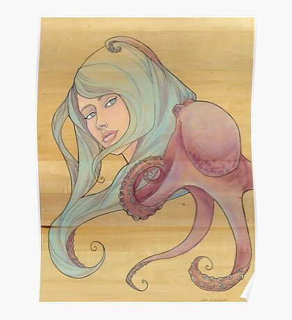 The Octopus Mermaid 3 Poster