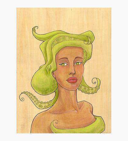 Octopus Mermaid 2 Photographic Print