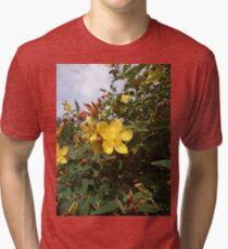 yellow flower Tri-blend T-Shirt