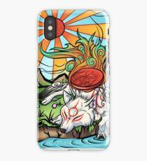 Okami - Amaterasu Rests iPhone Case