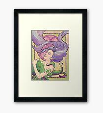 Tattooed Mermaid 9 Framed Print