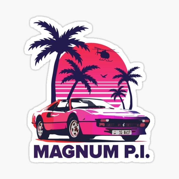 Magnum Pi - Hawaii Sticker