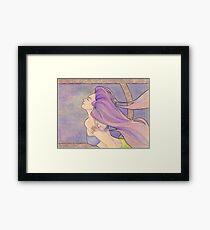 Tattooed Mermaid 4 Framed Print