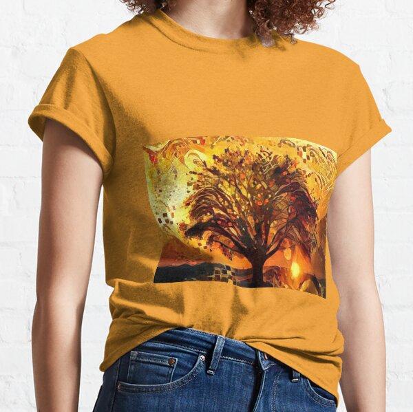 Golden Evenin Amber Classic T-Shirt